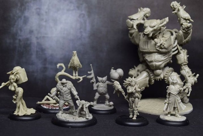 An example of some models from the Murder Inc faction. Click on the image for more on our models
