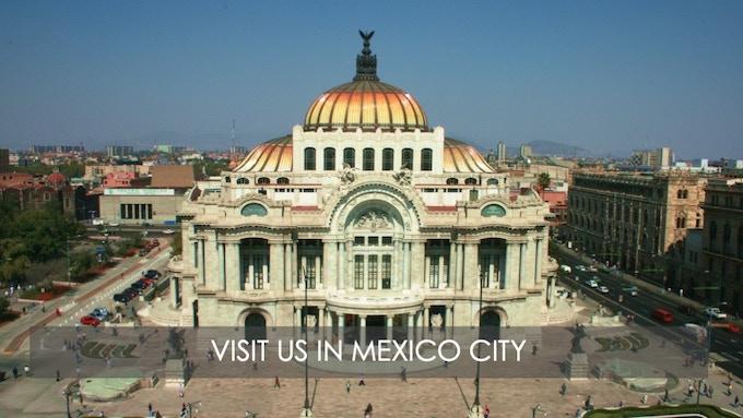 Palacio de Bellas Artes in the historic center of the city