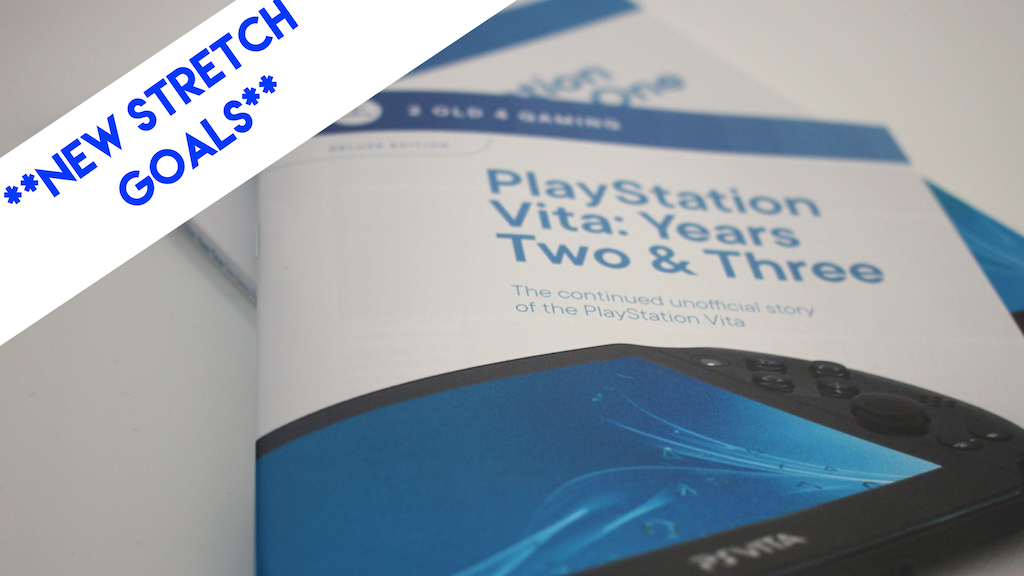 PlayStation Vita: Years Two & Three – Unofficial Book project video thumbnail
