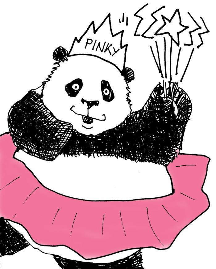 Learn more about the beloved characters of the Panda Chronicles (Pinky: especially Pinky!!!) Welcome to the Pandasphere!