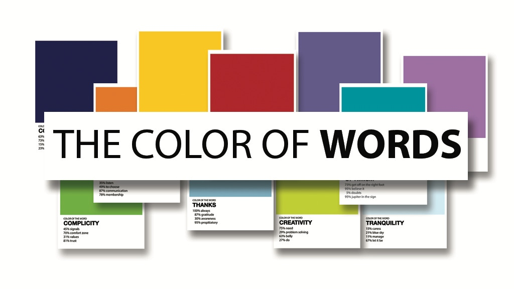 THE COLOR OF WORDS project video thumbnail