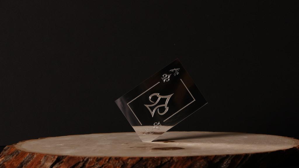 Lux Runa: Metal Playing Cards