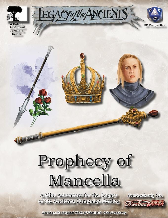 Prophecy of Mancella Mini Adventure Stretch Goal (PDF)