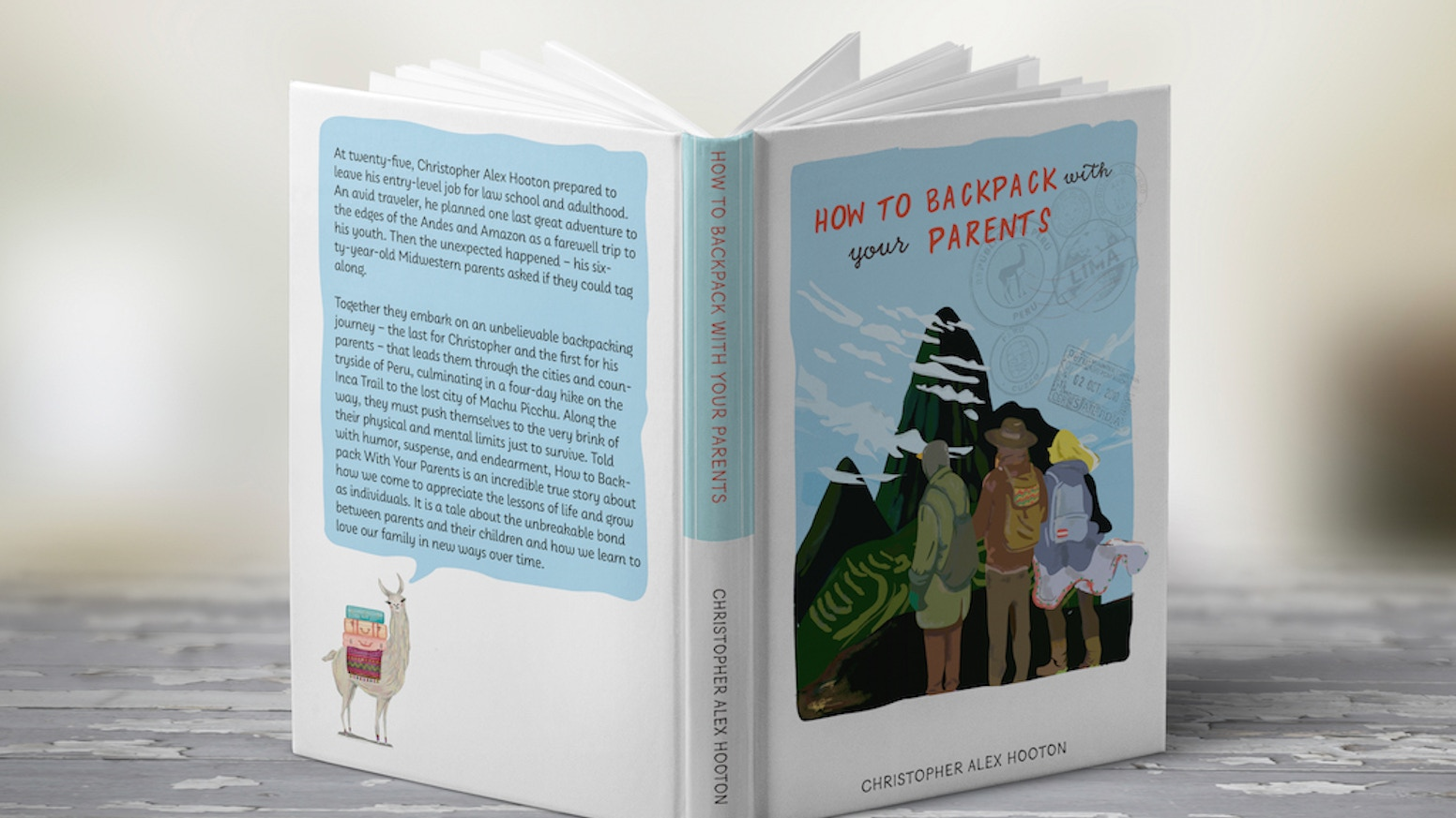 A new book telling the amazing true story about a young man backpacking with his parents through Peru and the Andes Mountains. Successfully funded and available now!