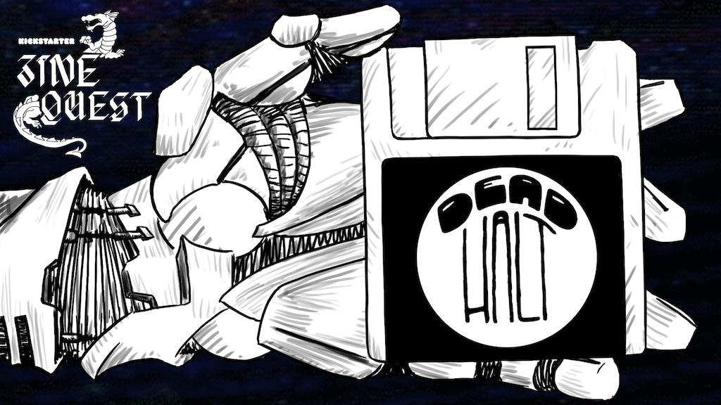 Dead Halt ~ A Retro RPG Zine project video thumbnail