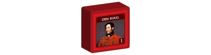 British Commander Riall