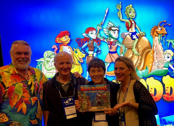 """""""In this beautifully illustrated book, Walt Smith shares his love for coral reefs through a host of imaginative characters who help younger readers understand how fragile this underwater realm can be. Bula Buddiesis a wonderful way to engage a sense of wonder among children for our ocean world."""" Dr Bruce Carlson, Famed Reef scientist with wife Marj Carlson, also a reef scientist"""