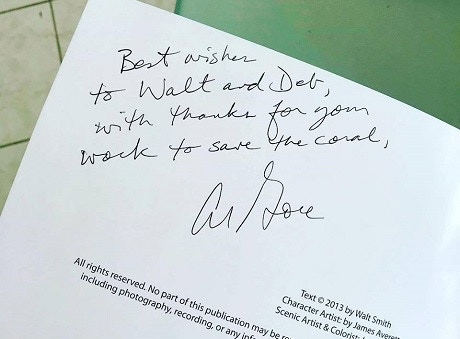 from Al Gore when he saw the book.