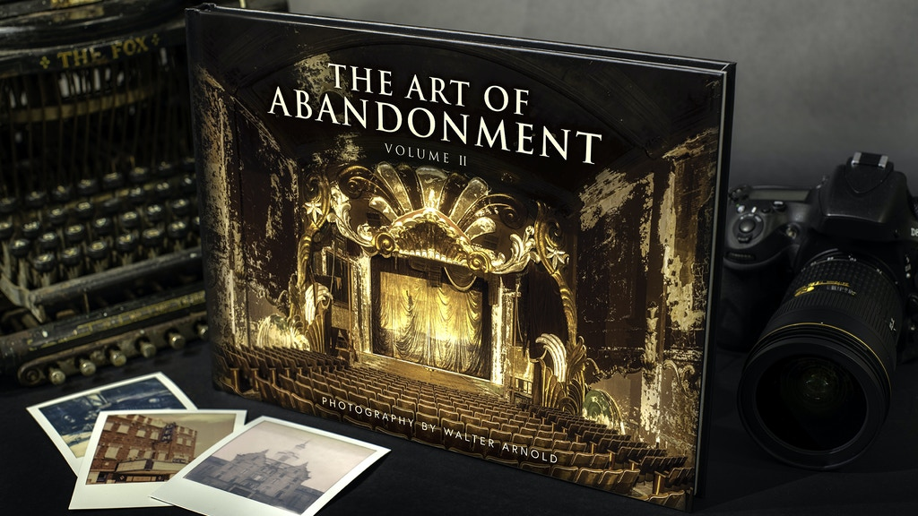 Art of Abandonment Volume II - Photo Book by Walter Arnold project video thumbnail