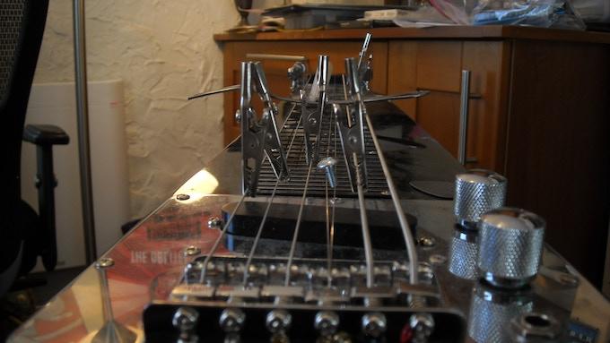Altered Lap-Steel Guitar