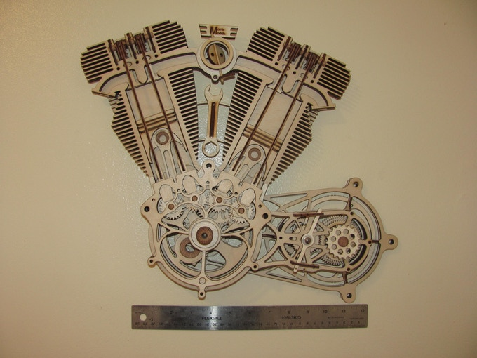 Prototype V-Twin Engine