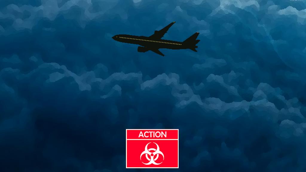 Terror at 30,000 feet - Gamebook - YOU are the hero (EN-FR)