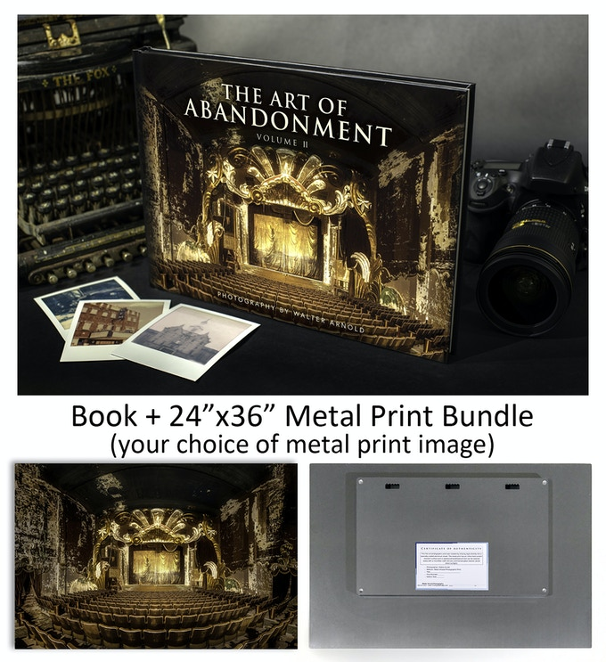 "Book + 24""x36"" Metal Print Bundle"