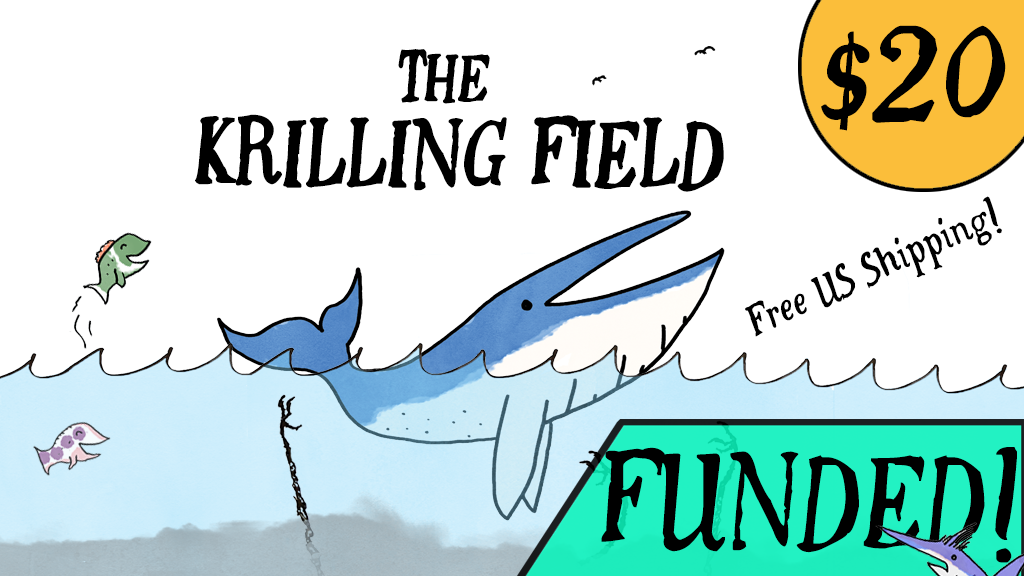 The Krilling Field - A nautical exploration card game! project video thumbnail