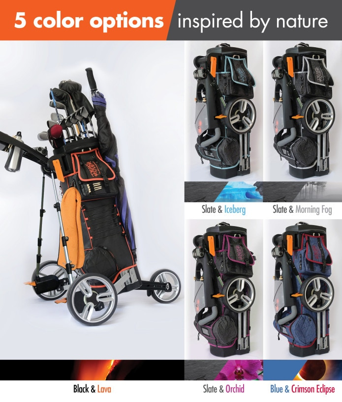 The world's first all-in-one golf bag & cart hybrid, intuitively designed for both walking & riding. Check us out at Transrover.com