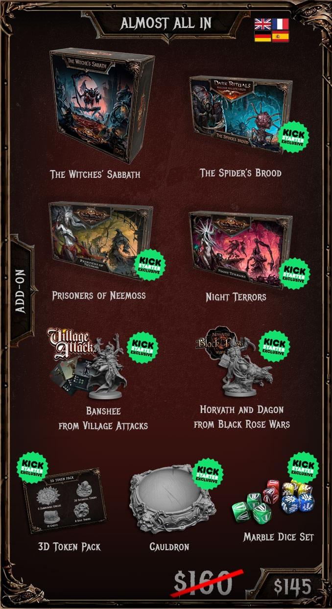 Dark Rituals: Malleus Maleficarum by Dark Gate Games — Kickstarter
