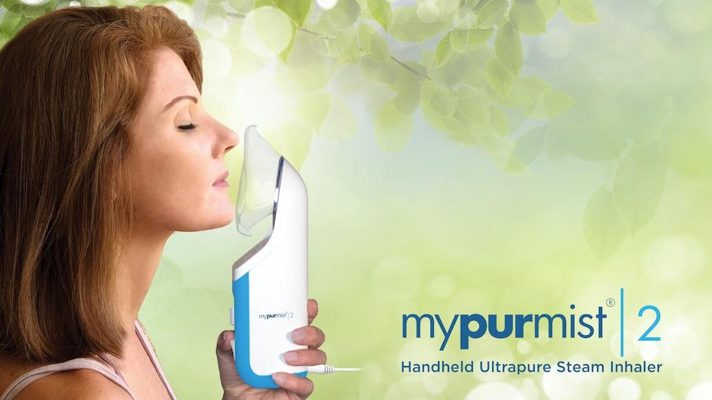 Mypurmist 2 - Personal Humidifier & Air Purifier project video thumbnail