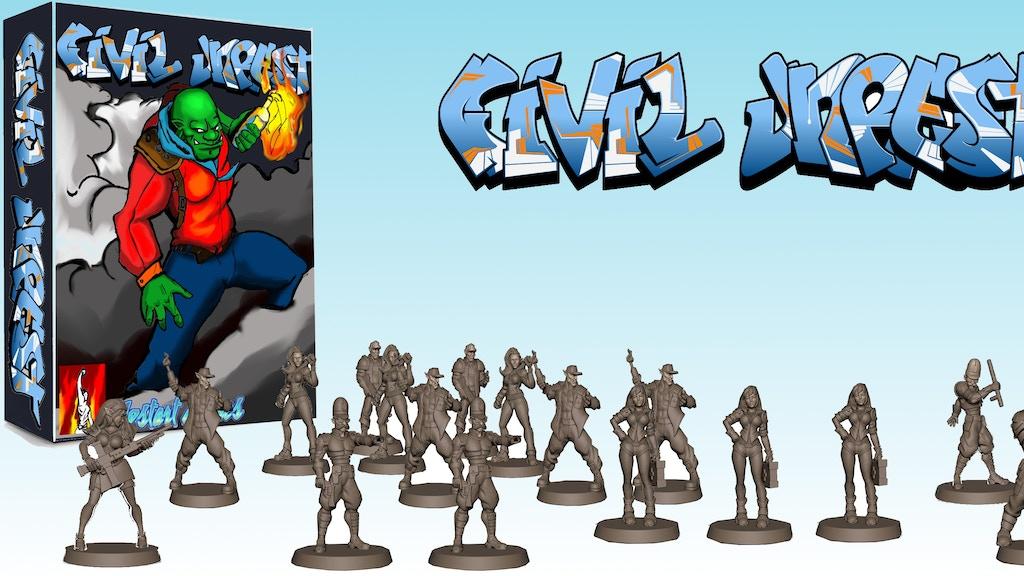 Civil Unrest: A Miniatures Skirmish Game project video thumbnail
