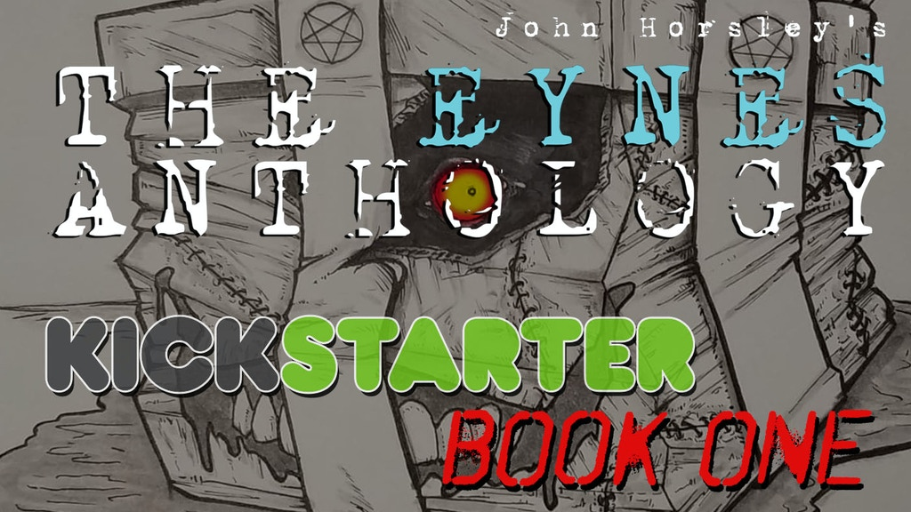 The Eynes Anthology Book One - Horror/Supernatural Comic! project video thumbnail