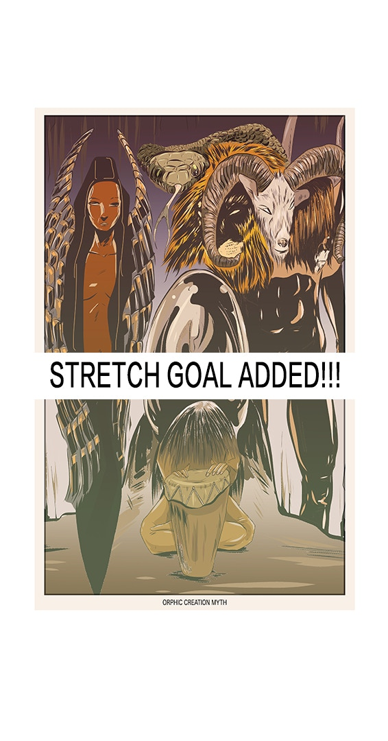 At 900 everyone will get a free Orphic creation myth print!