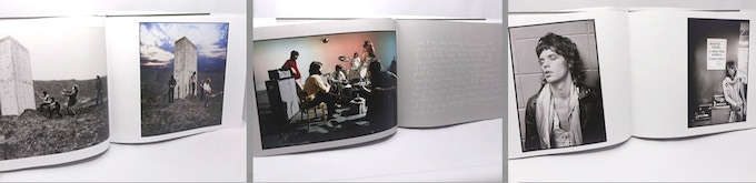 Spreads from the book: The Who, The Beatles & The Rolling Stones