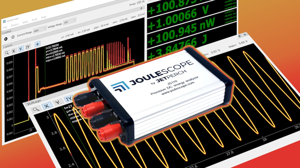 Joulescope: Precision DC Energy Analyzer project video thumbnail