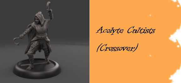 One of the Acolyte Cultists that is a crossover model
