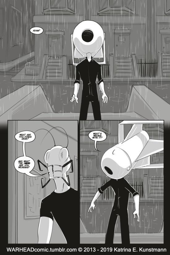 WARHEAD Issue 10, PG 1