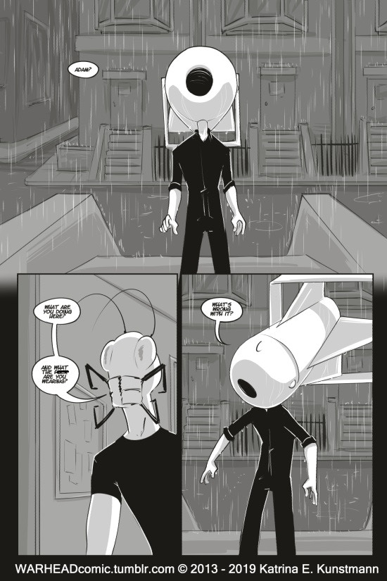 WARHEAD Issue 10, PG 1