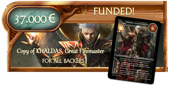 Note: Khaldas, Great Firemaster is an Alternative Hero Skin for Inashka, Mistress of Fire