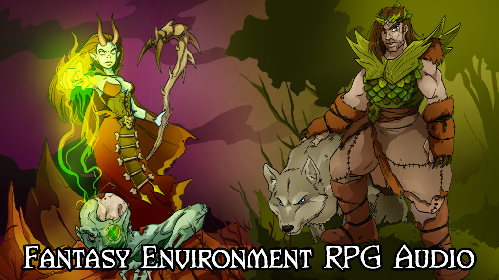 Fantasy Environment RPG Audio project video thumbnail
