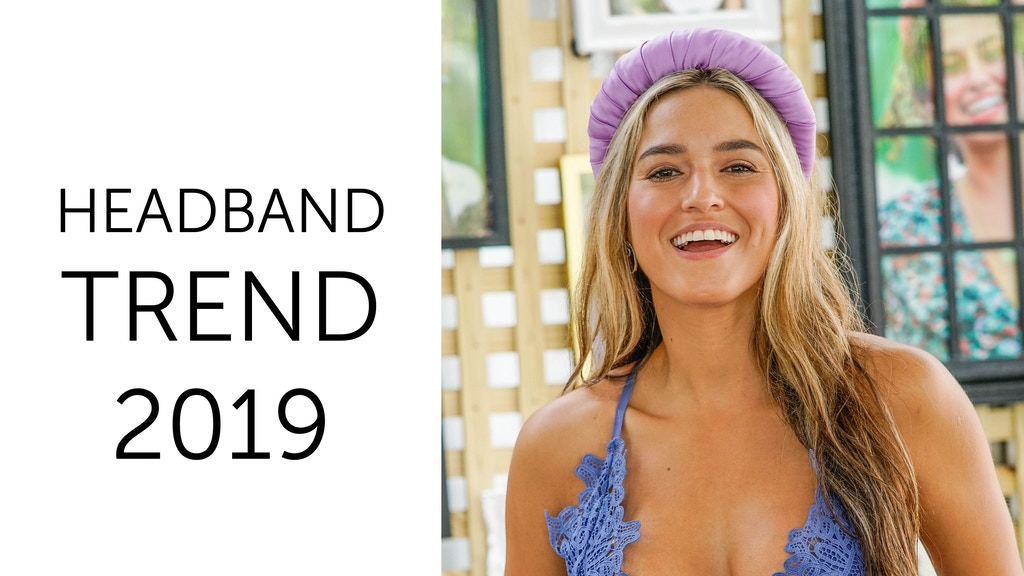 Project image for Headband trend 2019: perfect hair accessory for every woman