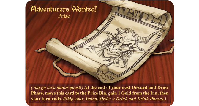 Adventurers Wanted, one of the new Prize Cards, will be in every edition of The Smorgasbox!