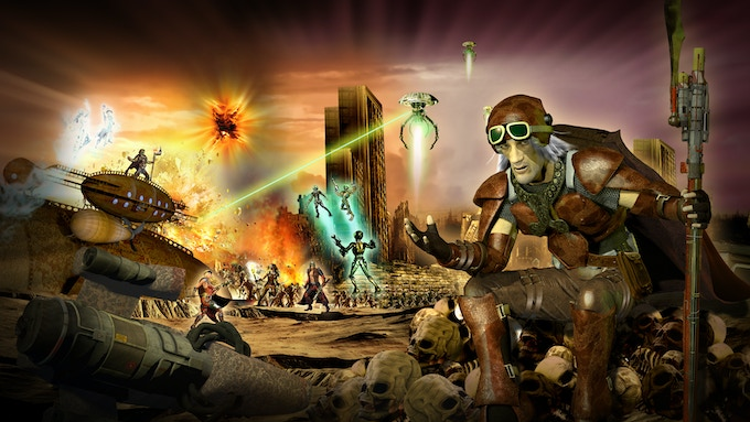 Aliens, Ghosts, Zombies and Humans battle for Supremacy