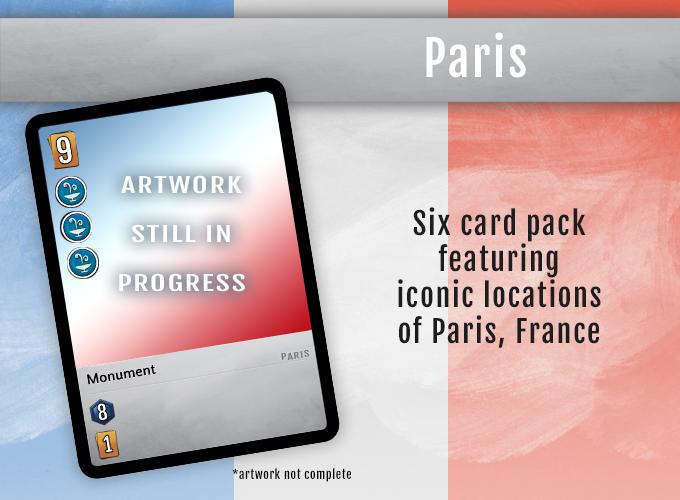 Iconic City pack - Paris, France