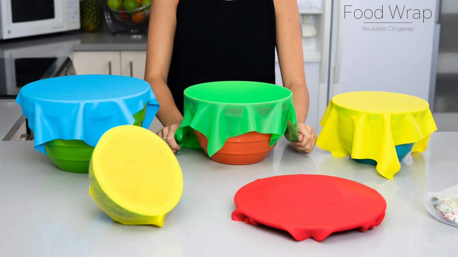 Food Wrap - Reusable Cling Wrap by Kim — Kickstarter