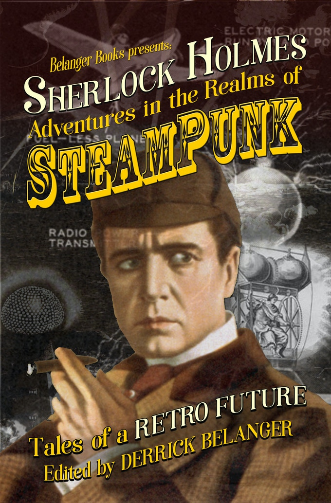 Cover of Sherlock Holmes: Adventures in the Realms of Steampunk Volume 1
