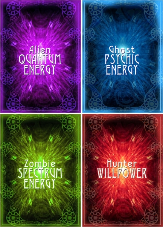 AGZ Character Energy Cards