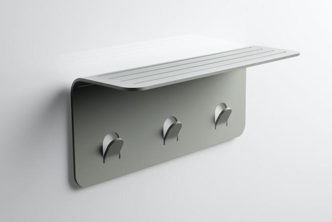Nebia Shelf - Matte Silver