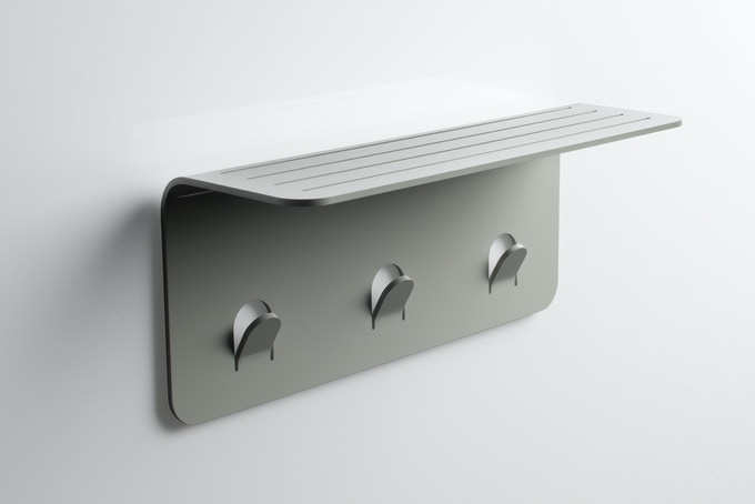 Nebia Shelf - Matte Silver