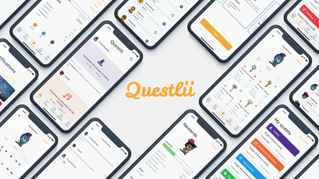 Questlii - Turning goal tracking into an adventure