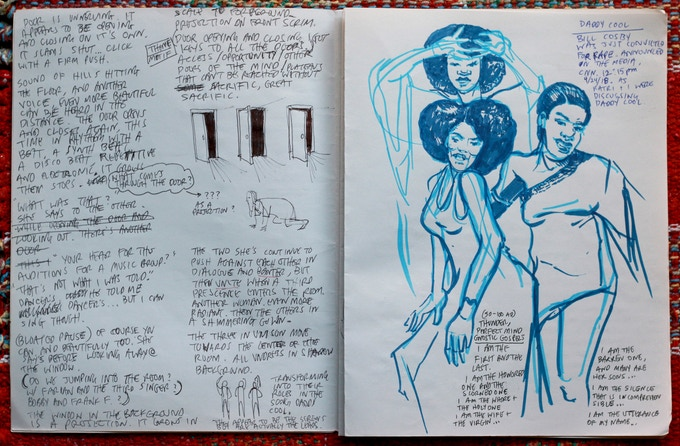 Edgar Arceneaux's Boney Manilli Sketches