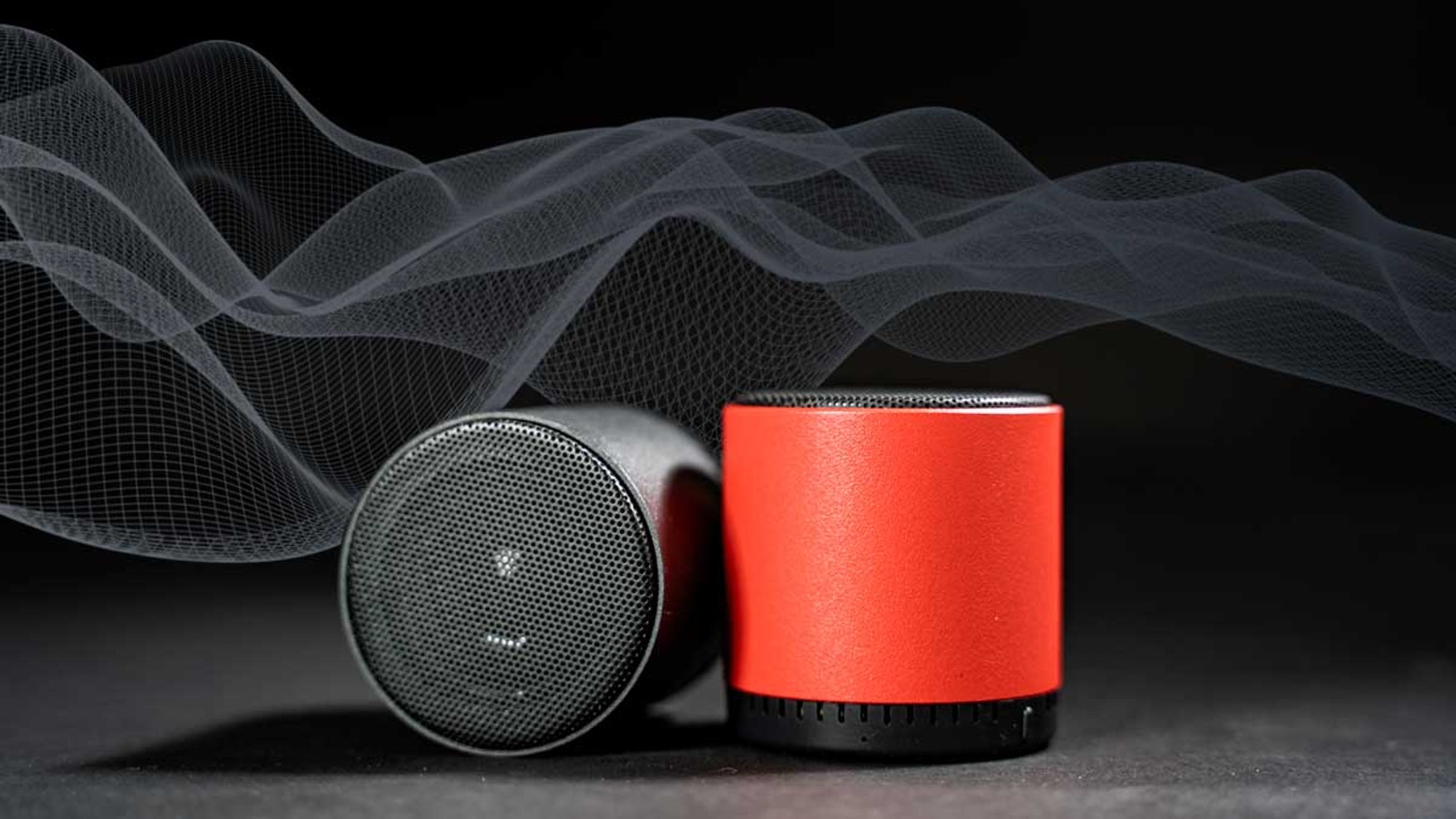 Full-Metal Design | True Wireless Stereo | Pocket Size | Black&Red Color Options