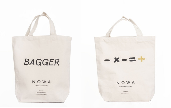 Limited Edition Bagger Bag and - x - = + Bag