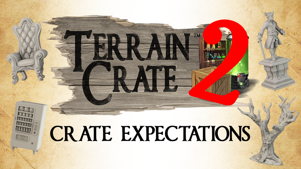 TerrainCrate 2: CRATE EXPECTATIONS project video thumbnail