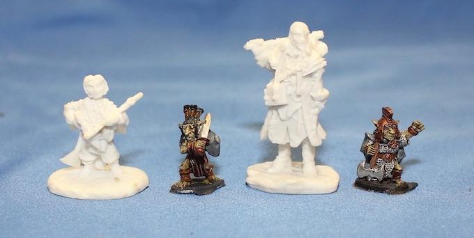 Lesser Goblins with Reaper Bones Miniatures