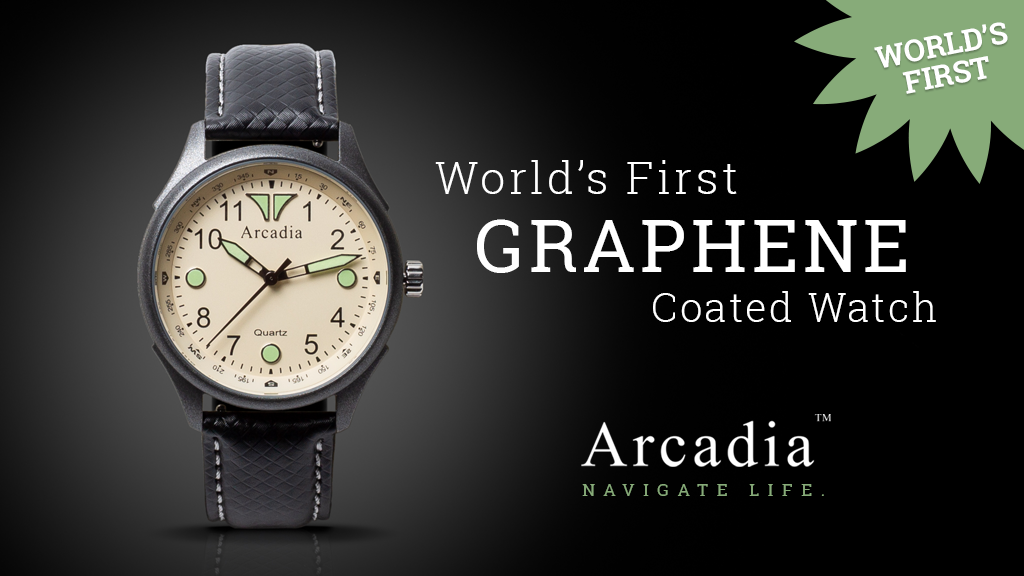 Project image for Arcadia: The World's First Graphene Coated Field Watch