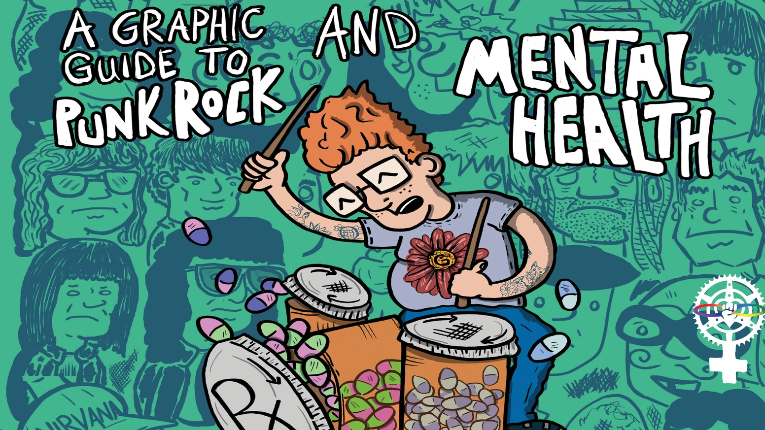 Reid Chancellor's graphic novel tracks the mental health struggles of great punk rockers, as well as his own experiences