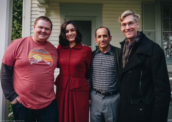Andy Morehouse, Shannyn Sossamon, Peter Jacobson, Nate Bell (Photo: Firehouse Creative)