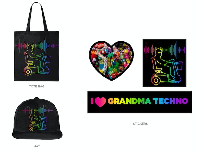 Official Grandma Techno Merchandise for Rewards